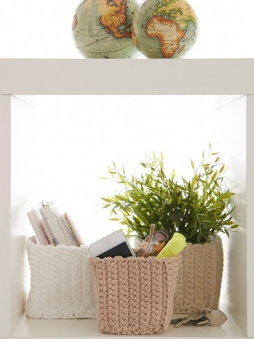 Mini Square Baskets