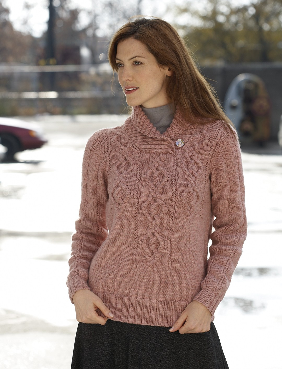 Fading Cables Pullover