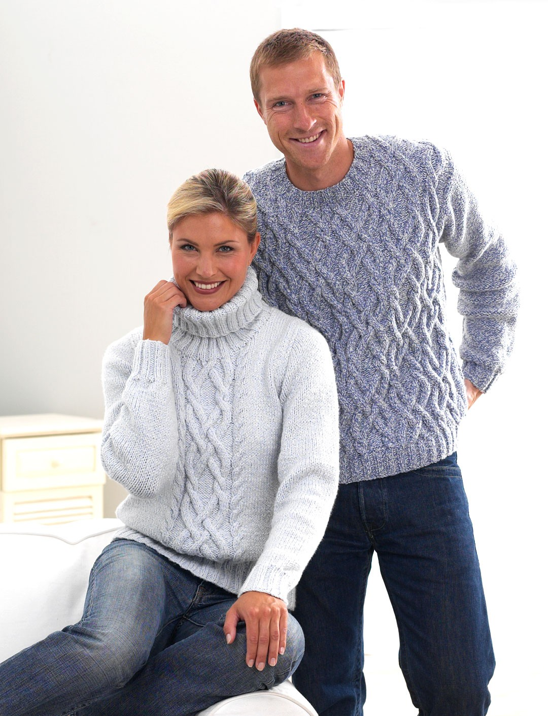 His and Her Aran Knits