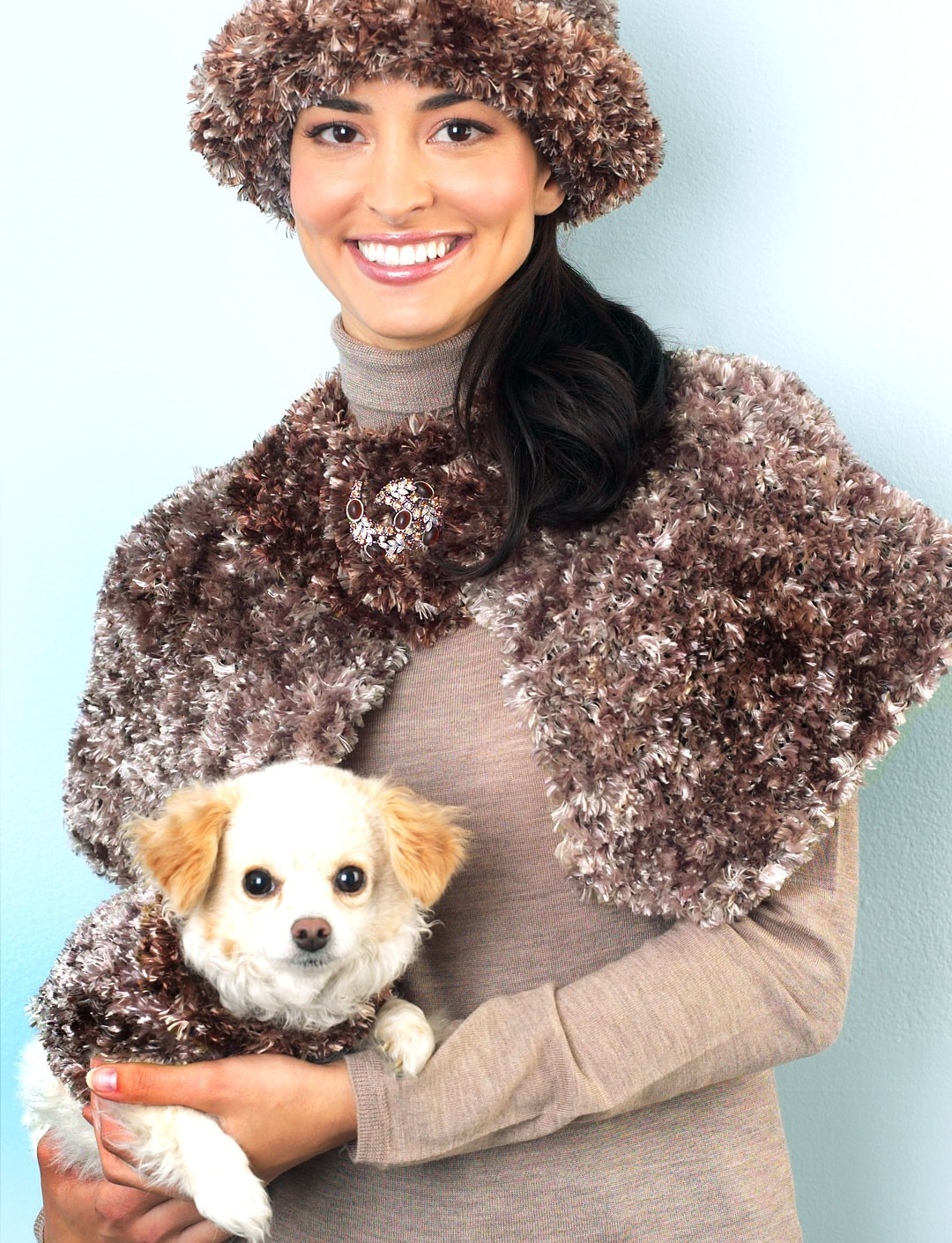 Knitting Pattern Dog Jacket : Dog Coat - Patterns Yarnspirations