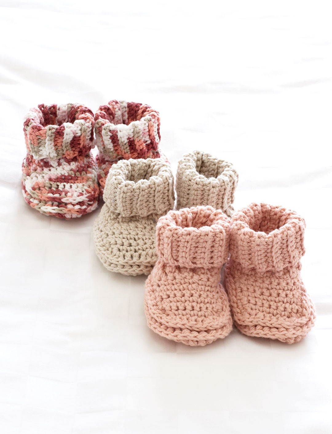 Babys booties patterns yarnspirations babys booties ccuart Choice Image