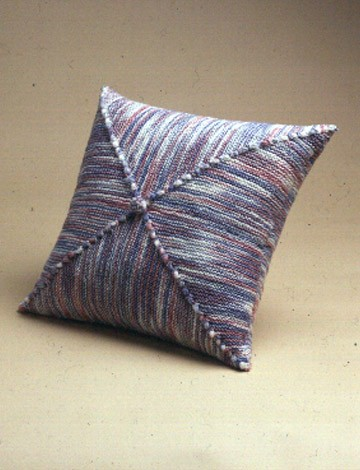 Diagonal Square Pillow