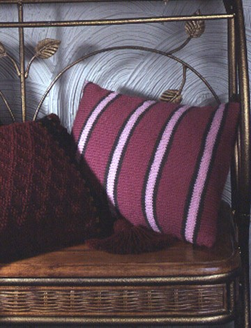 Simple Striped Pillow