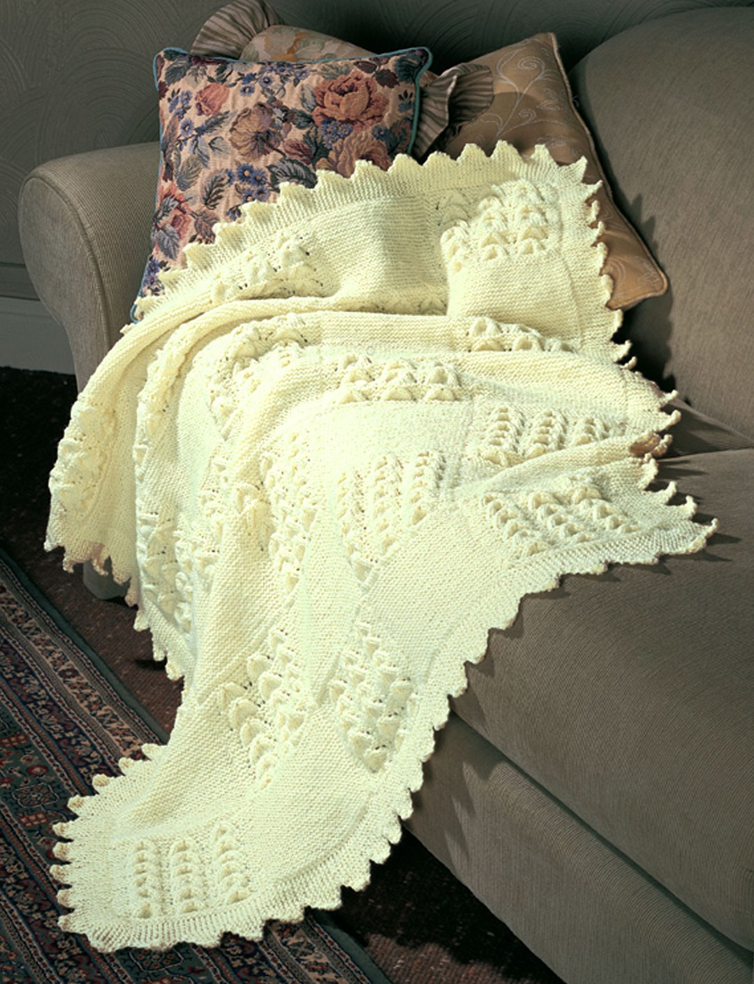 Garter and Shell Squares
