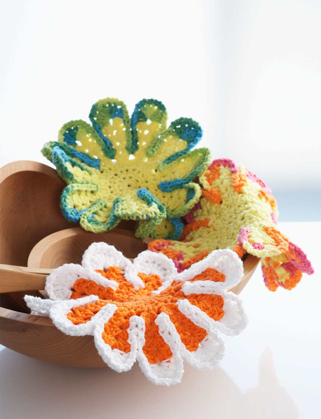 Chrysanthemum Dishcloth