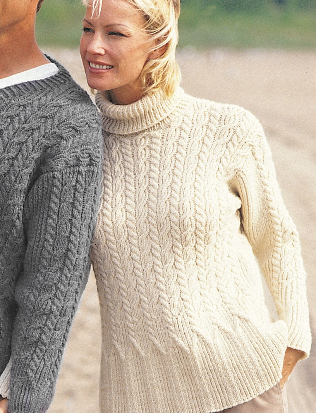 Patons Free Knitting Patterns : Casual Cables (for her) (Pattern) Yarnspirations