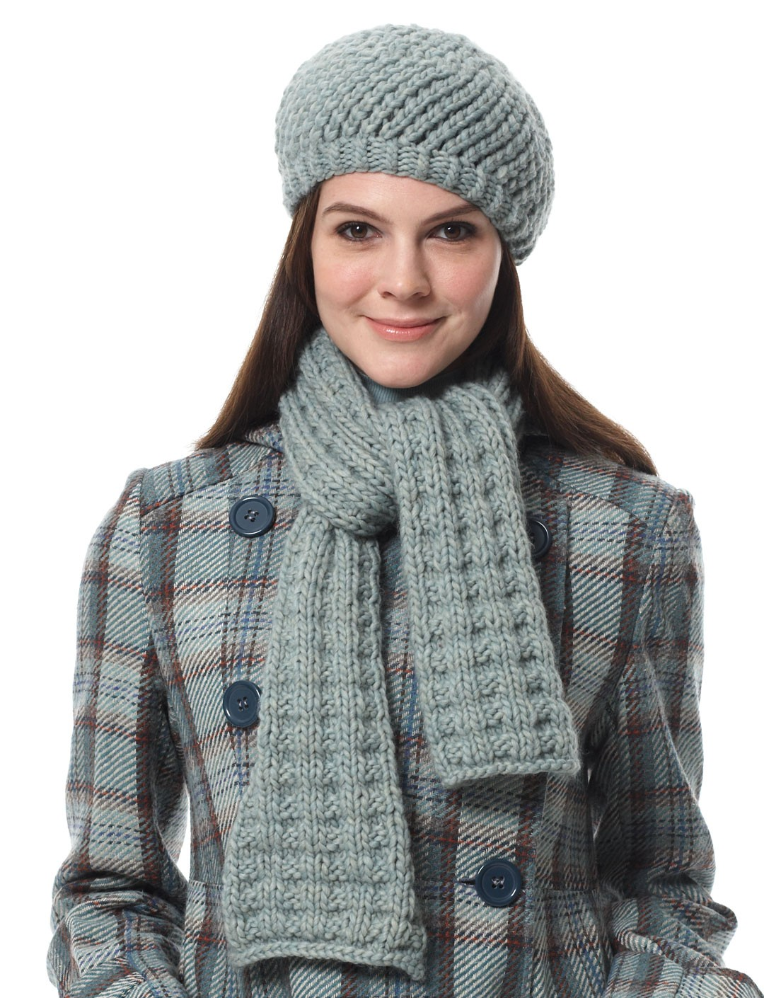 Bernat Knitting Patterns Free : Bernat, Scarf and Hat (Pattern) Yarnspirations