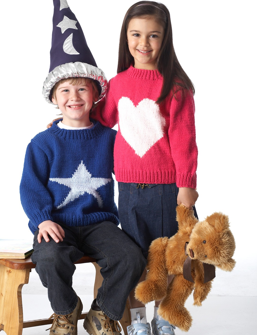 Heart and Star Pullover
