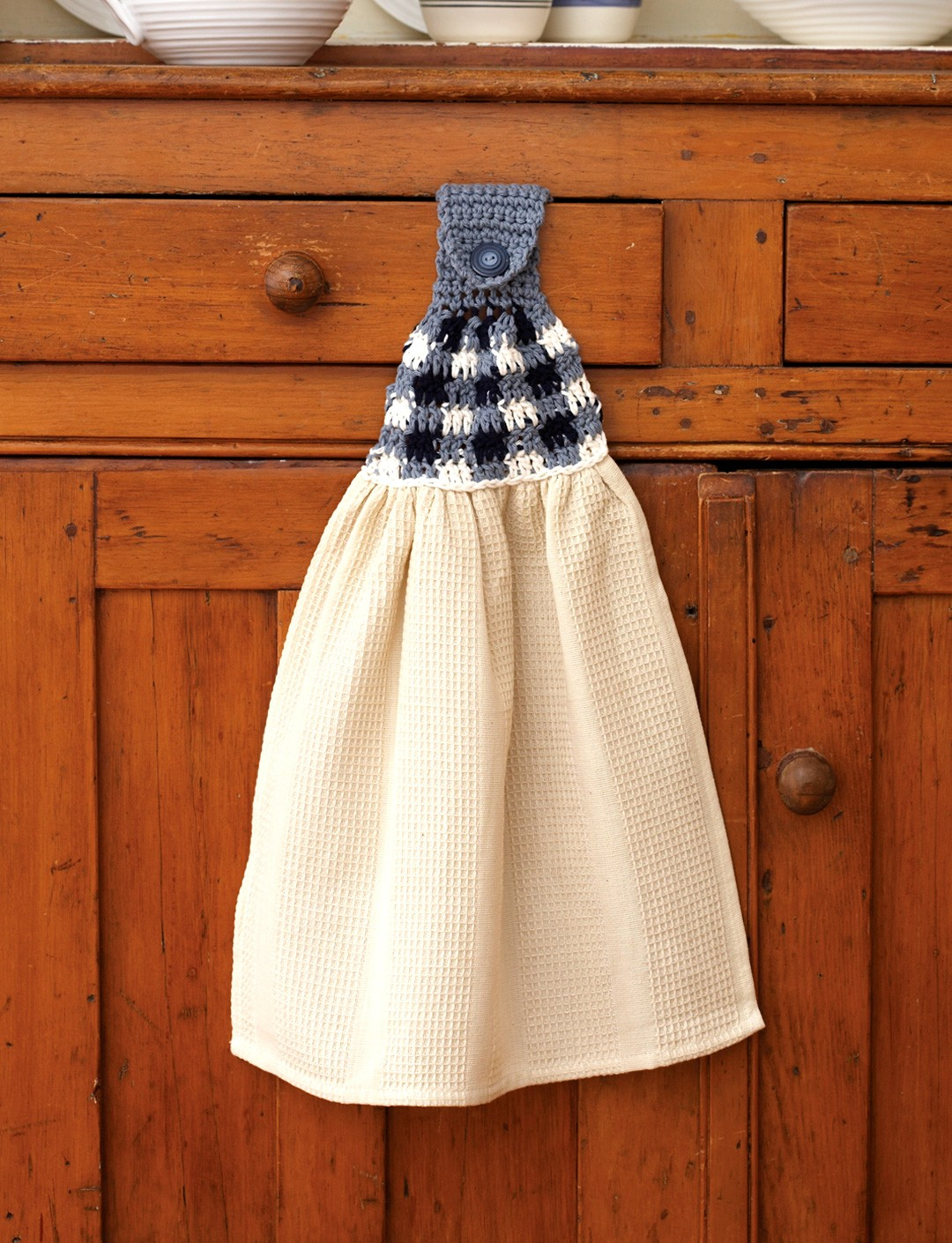 Gingham Towel Toppers