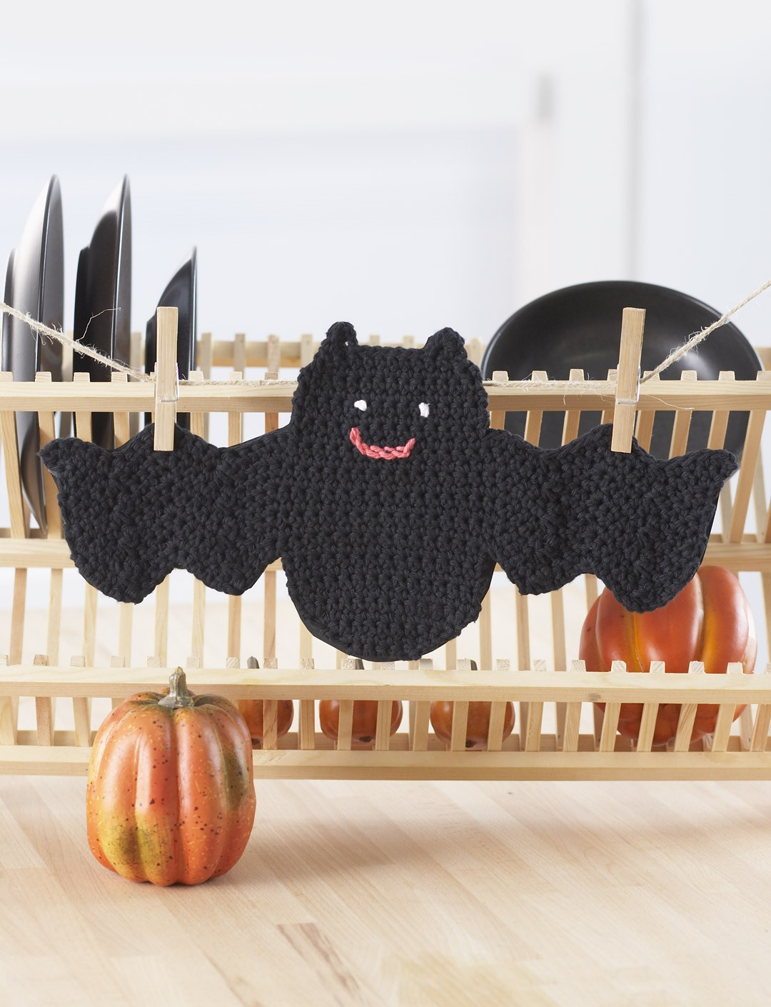 Bat Dishcloth