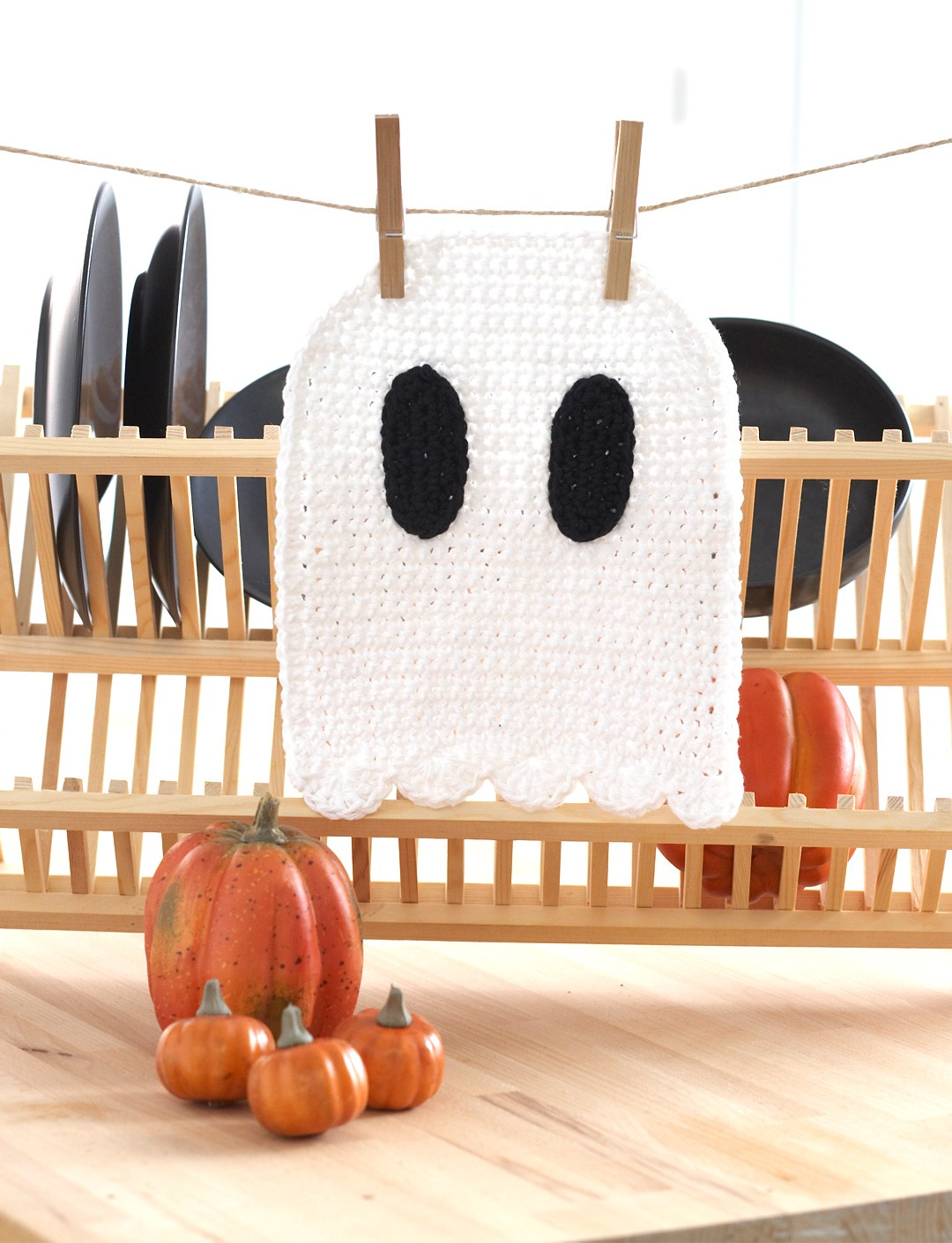 Ghost Dishcloth