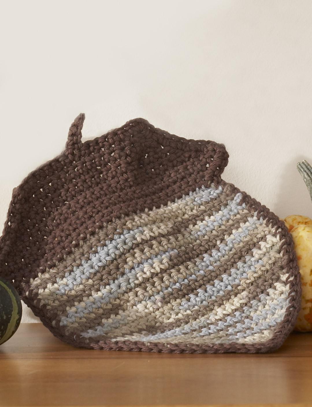 Acorn Dishcloth