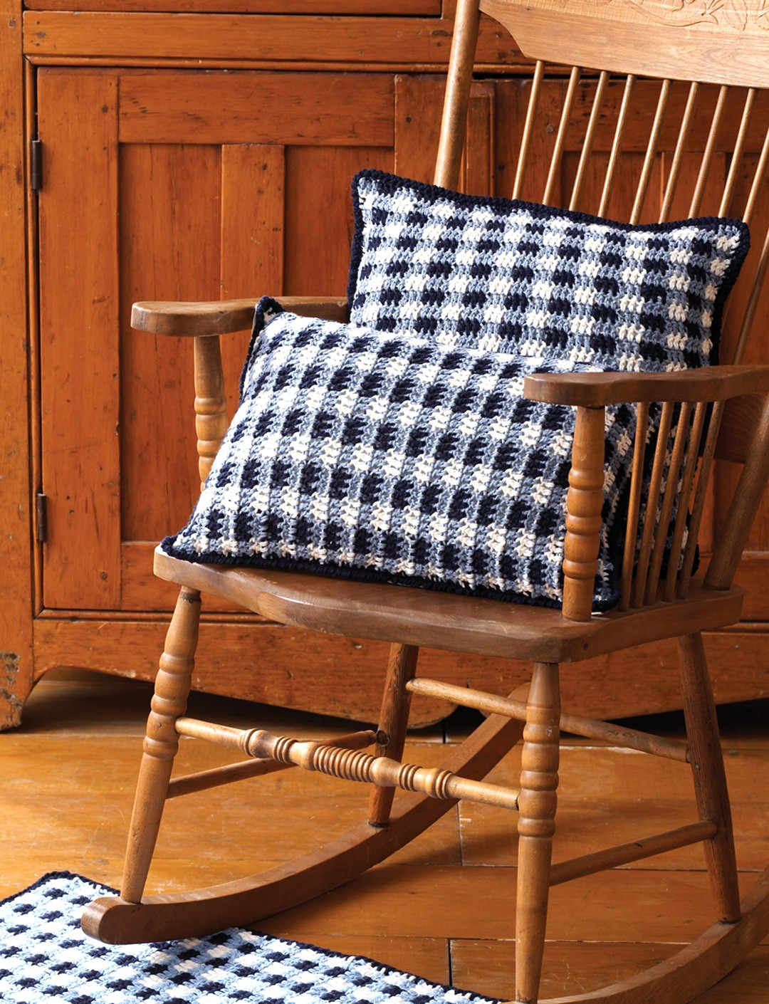 Gingham Pillows