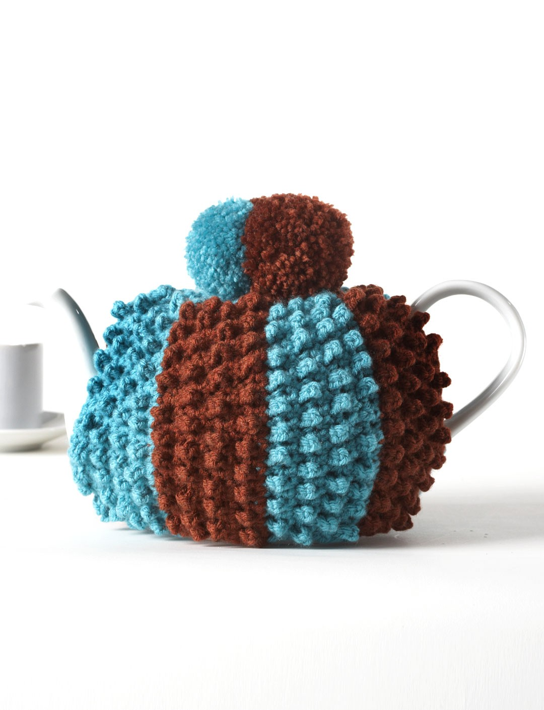 Crochet Popcorn Tea Cozy