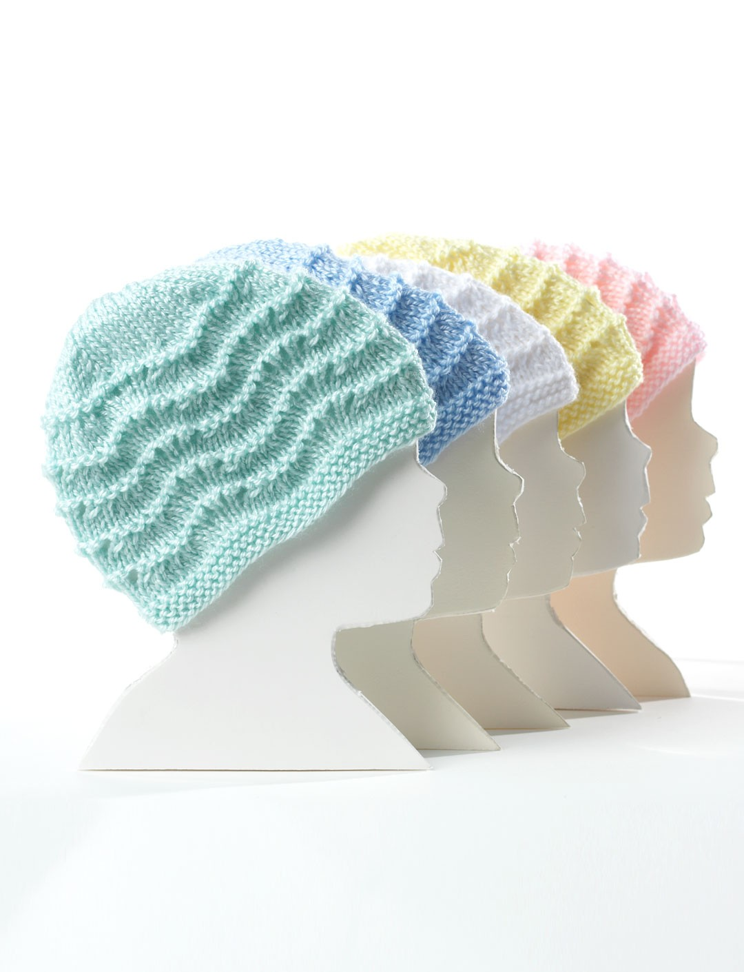 Knitting Pattern Books Hats : Bernat Knit Baby Hat, Knit Pattern Yarnspirations