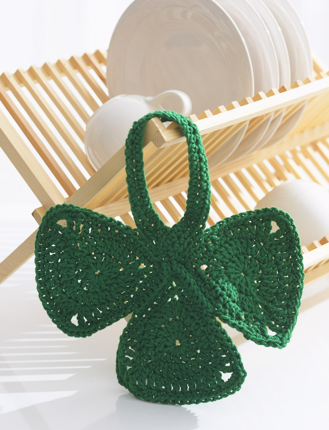 Shamrock Dishcloth