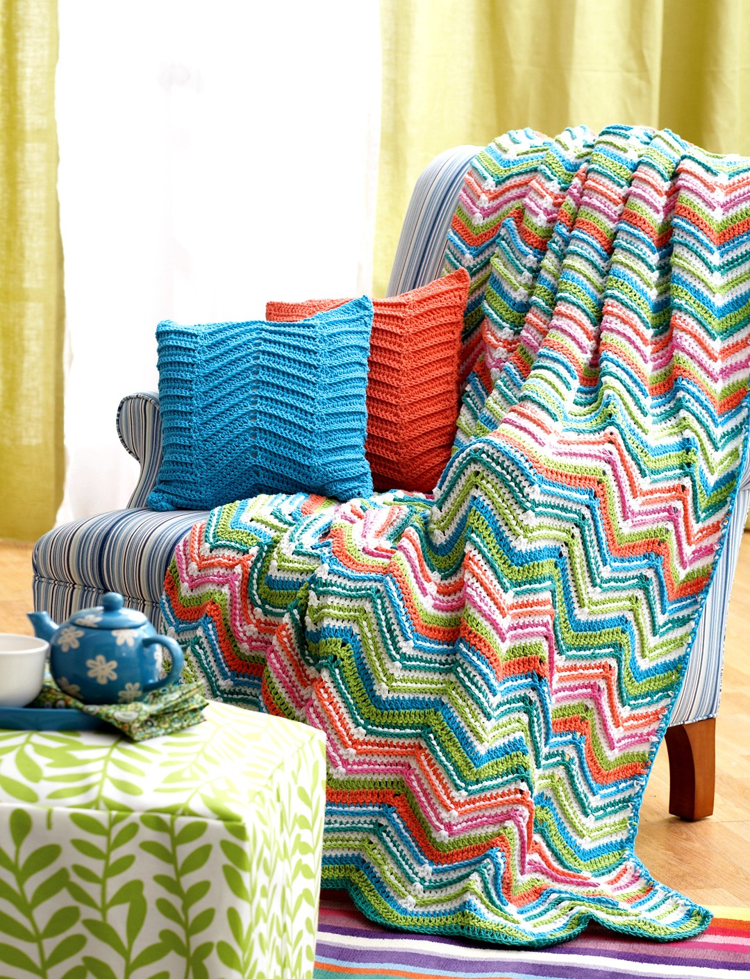Zig-Zag Throw