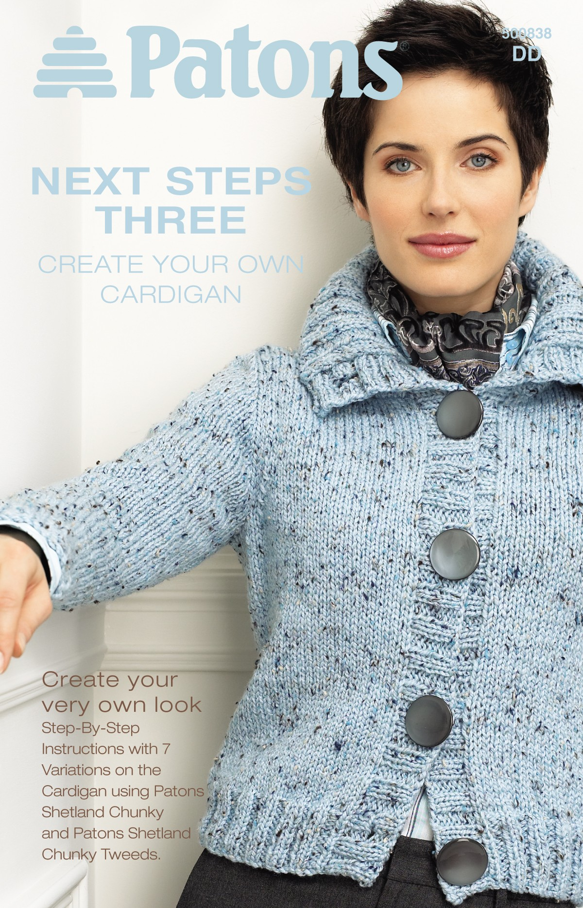 Next Steps Three - Create Your Own Cardigan