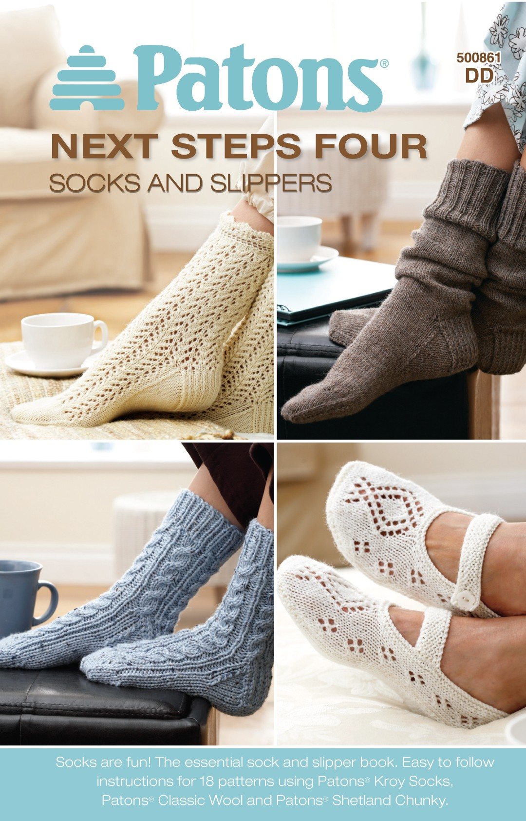 Next Steps Four - Socks and Slippers