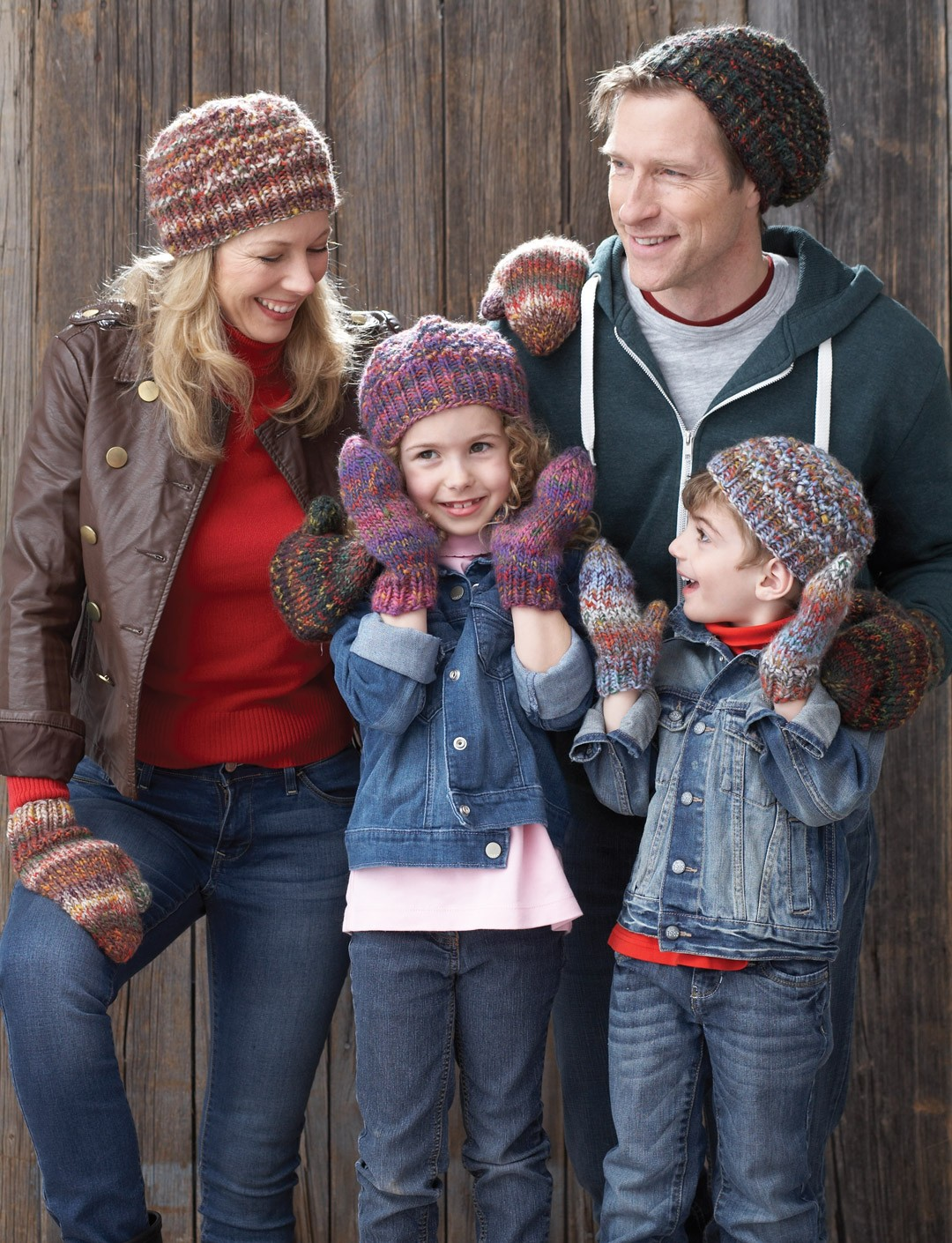 Family Hats and Mittens