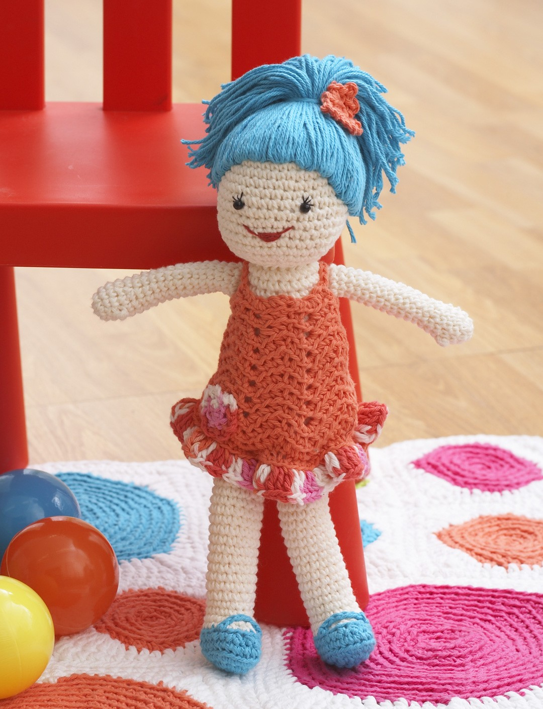 Lily Sugar And Cream Free Crochet Patterns : Lily Lily Doll, Crochet Pattern Yarnspirations