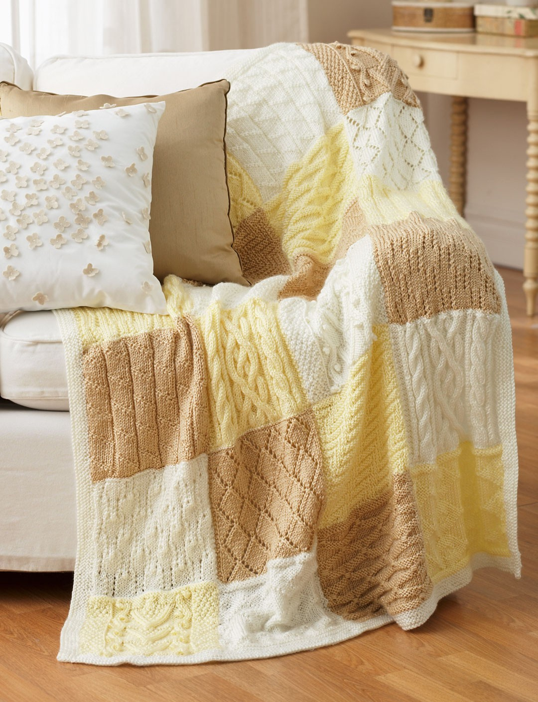 Bernat Knitting Patterns Free : Bernat Mystery Afghan Knit-Along, Knit Pattern Yarnspirations