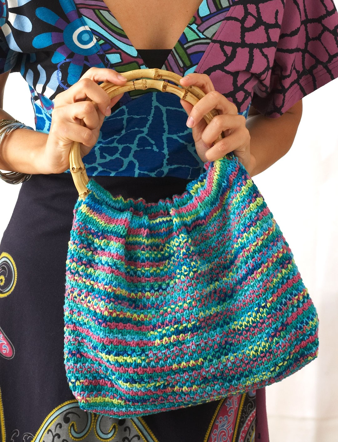 Psychadelic Hobo Bag