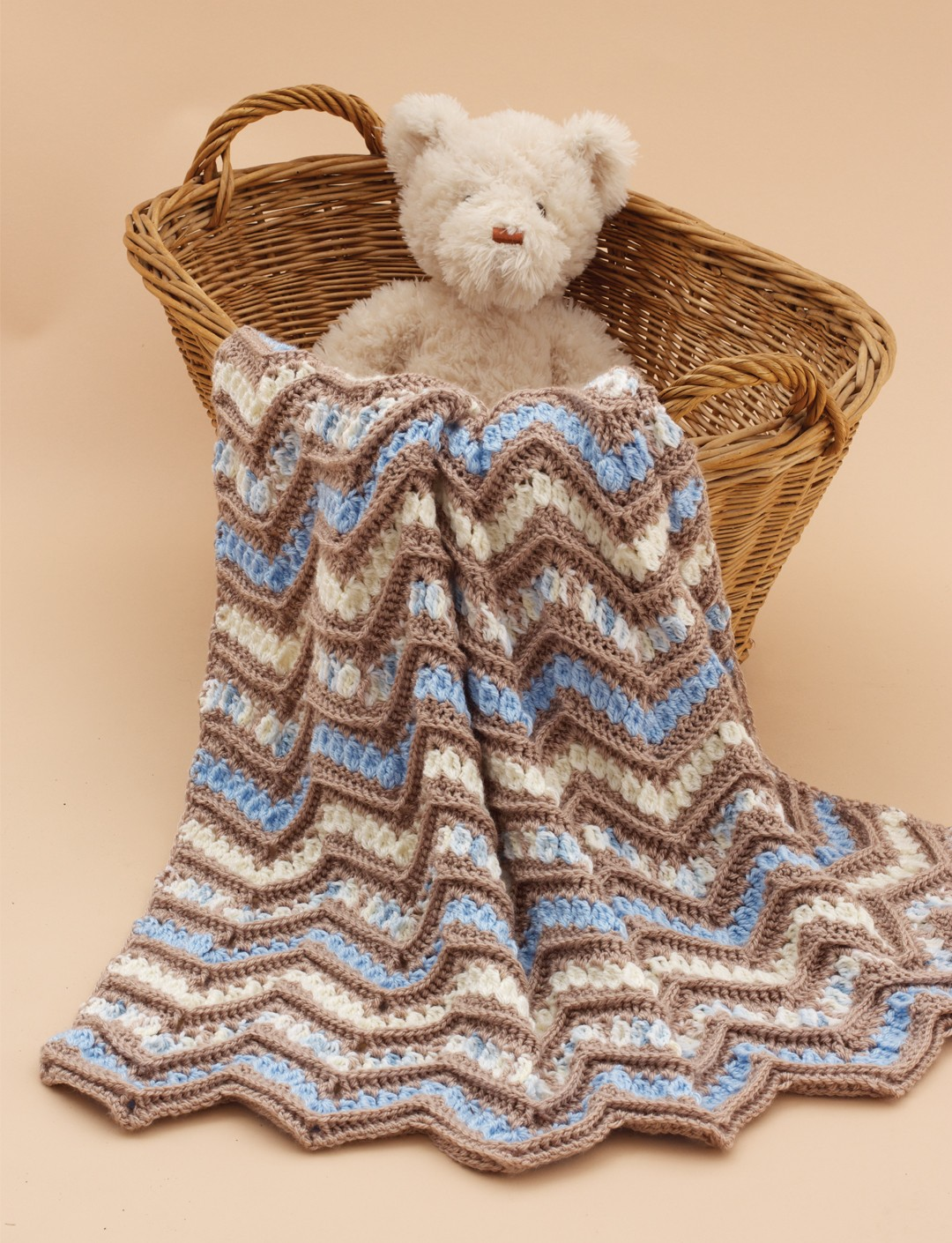Ridged Chevrons Blanket