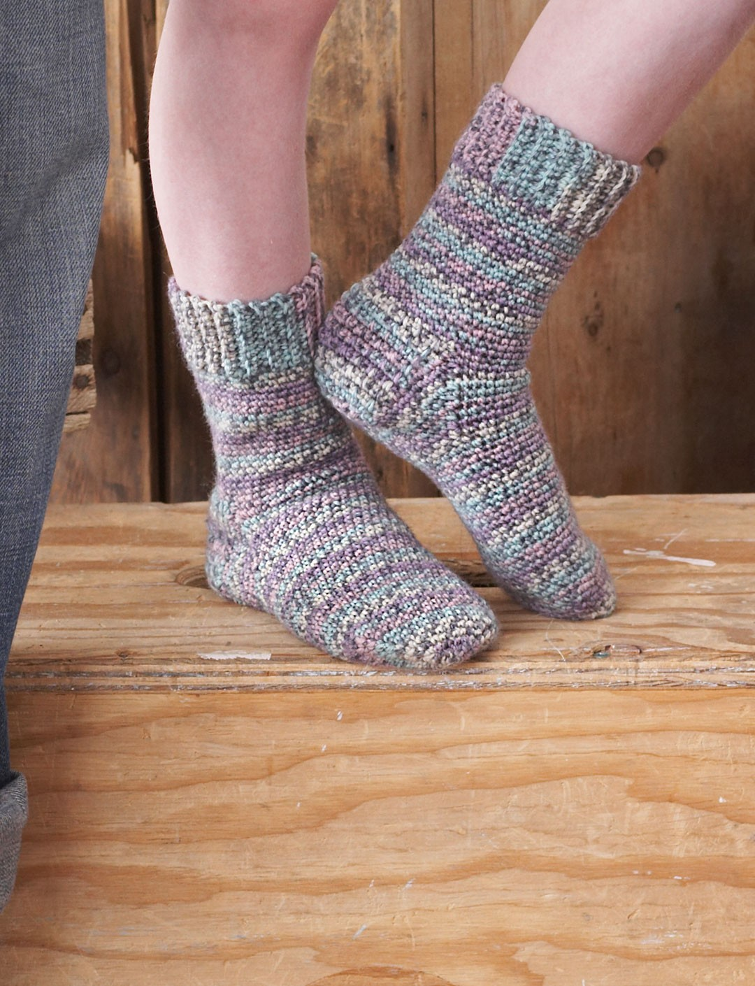 Sock crochet patterns yarnspirations family crochet socks bankloansurffo Image collections