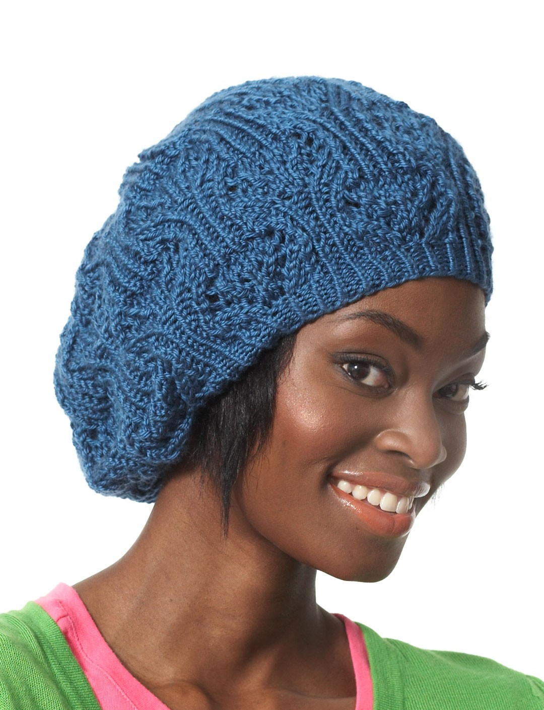 Slouchy Lace Beret