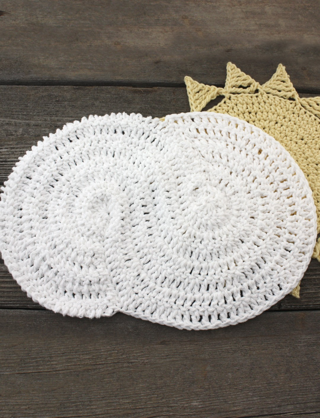 Cloudy Dishcloth