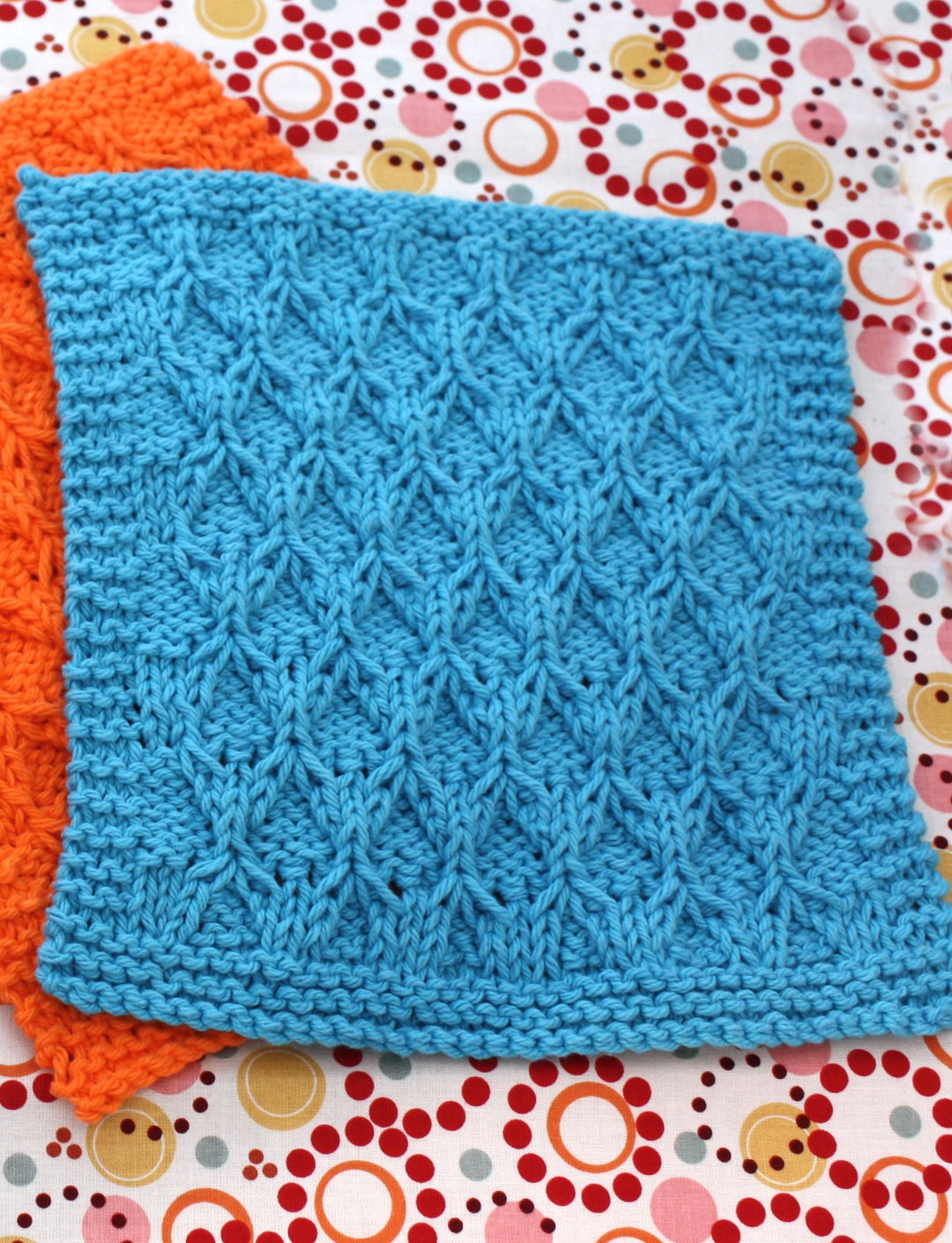 Honeycomb Knitting Pattern : Lily Honeycomb Check Dishcloth, Knit Pattern Yarnspirations