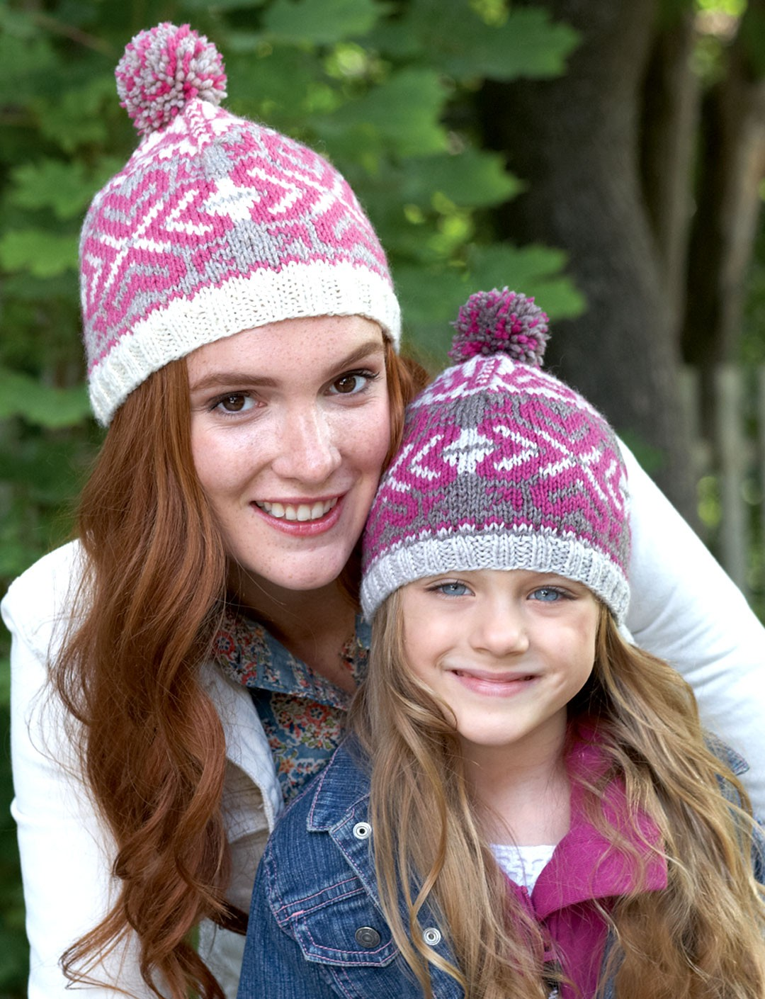 Fair Isle Knitting Kits Canada : Patons step i heart fair isle hat knit pattern