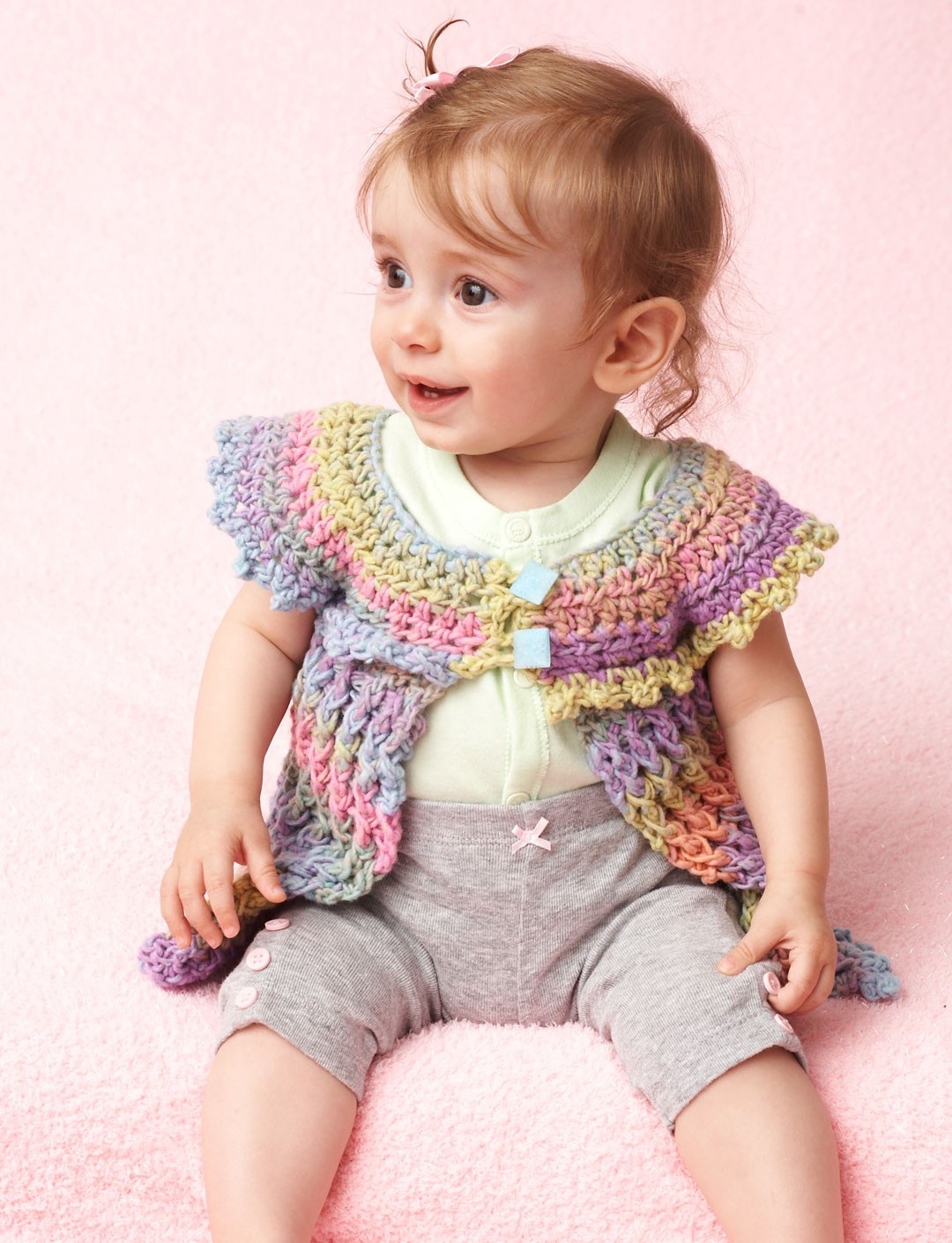 Cotton Candy Baby Tunic