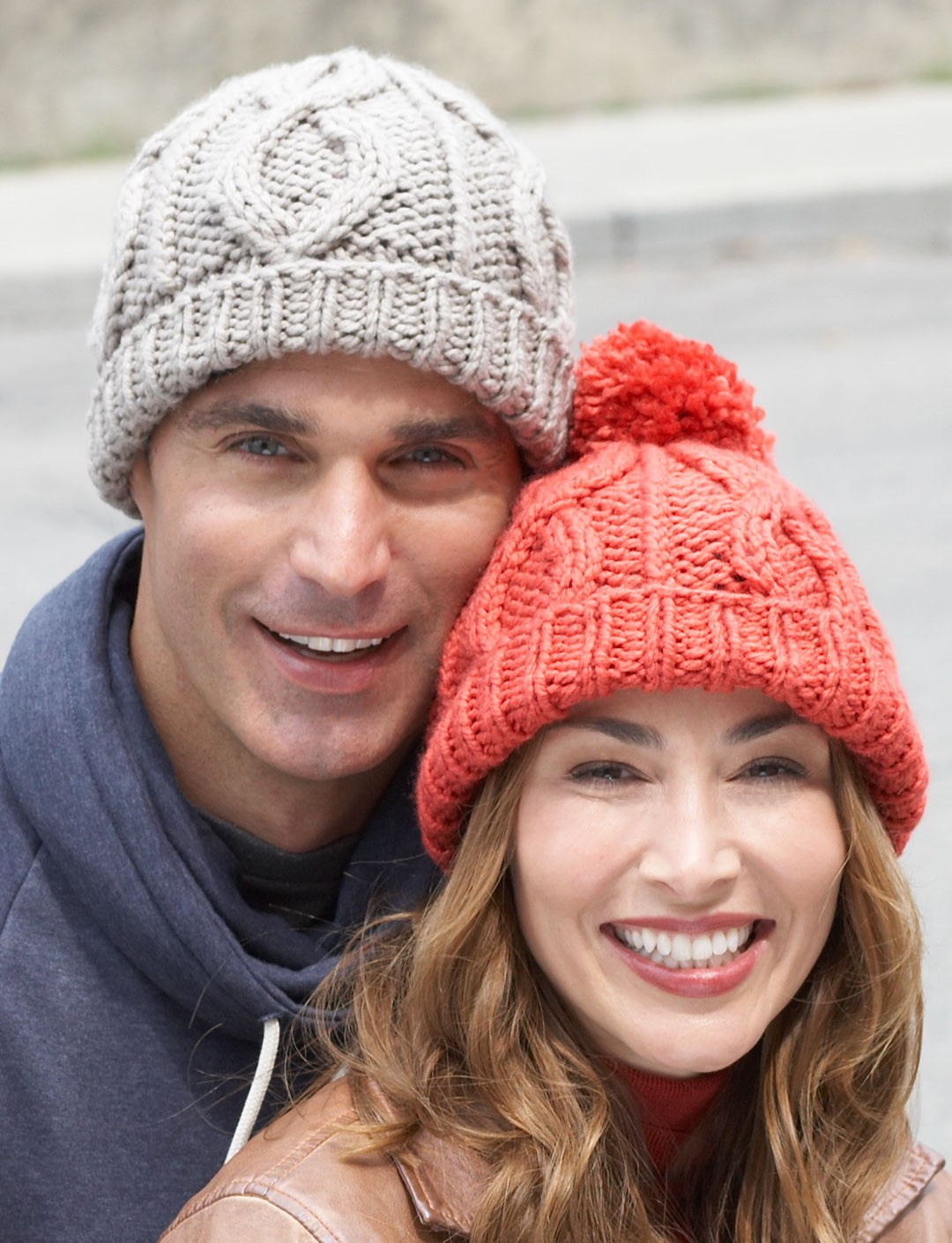 Bernat Cable Hat, Knit Pattern Yarnspirations