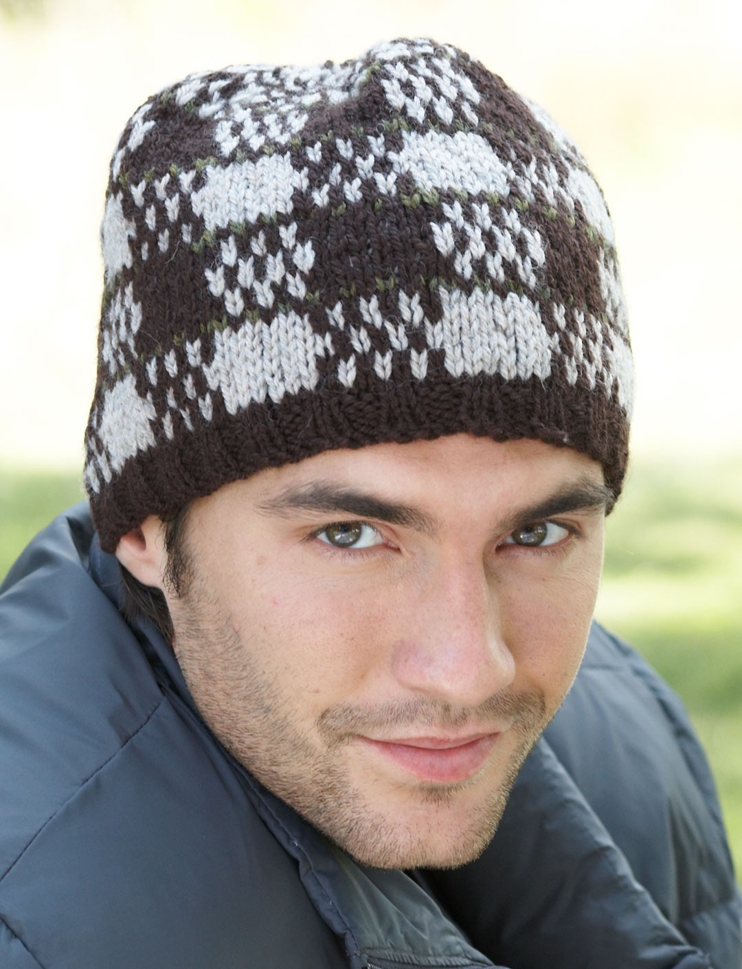Check Mate Fair Isle Hat