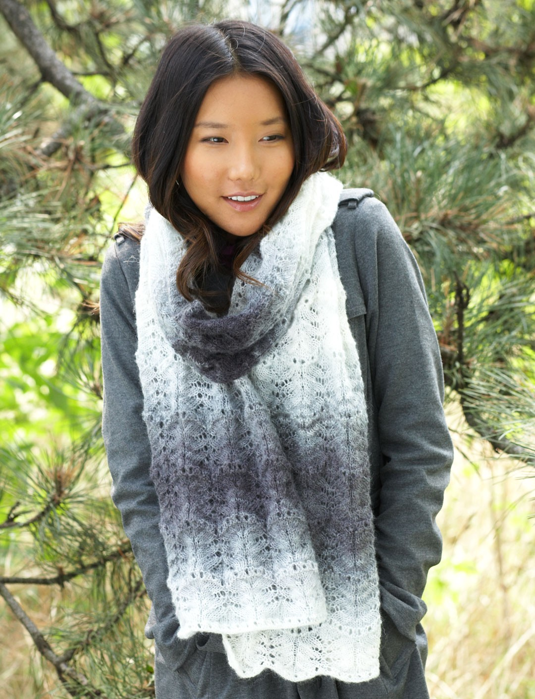Lofty Ripple Scarf