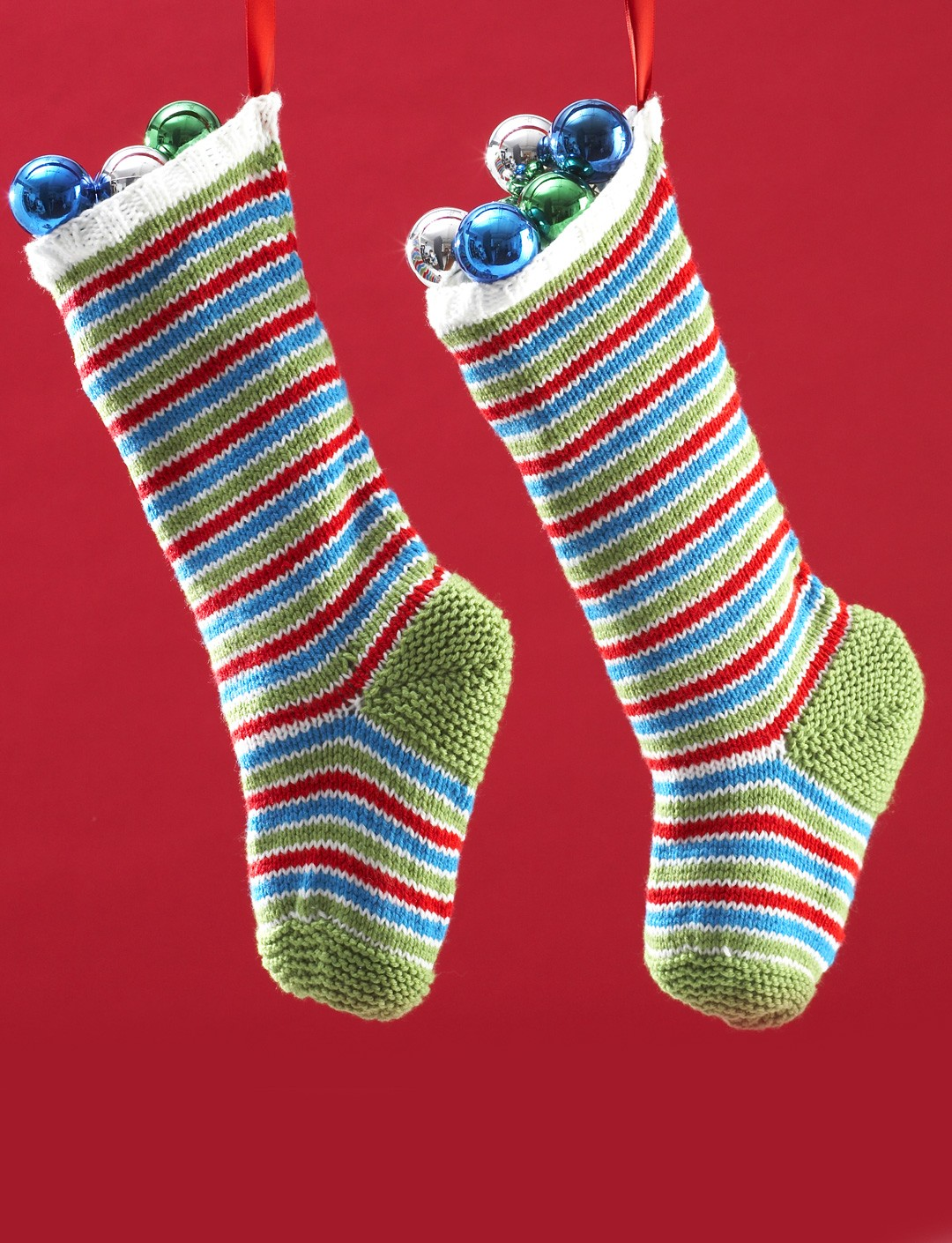 Jolly Striped Stockings