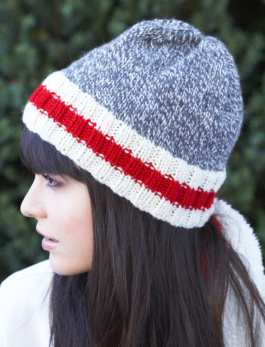 Sock Monkey Hat Knitting Pattern : Patons Work Sock Hat, Knit Pattern Yarnspirations