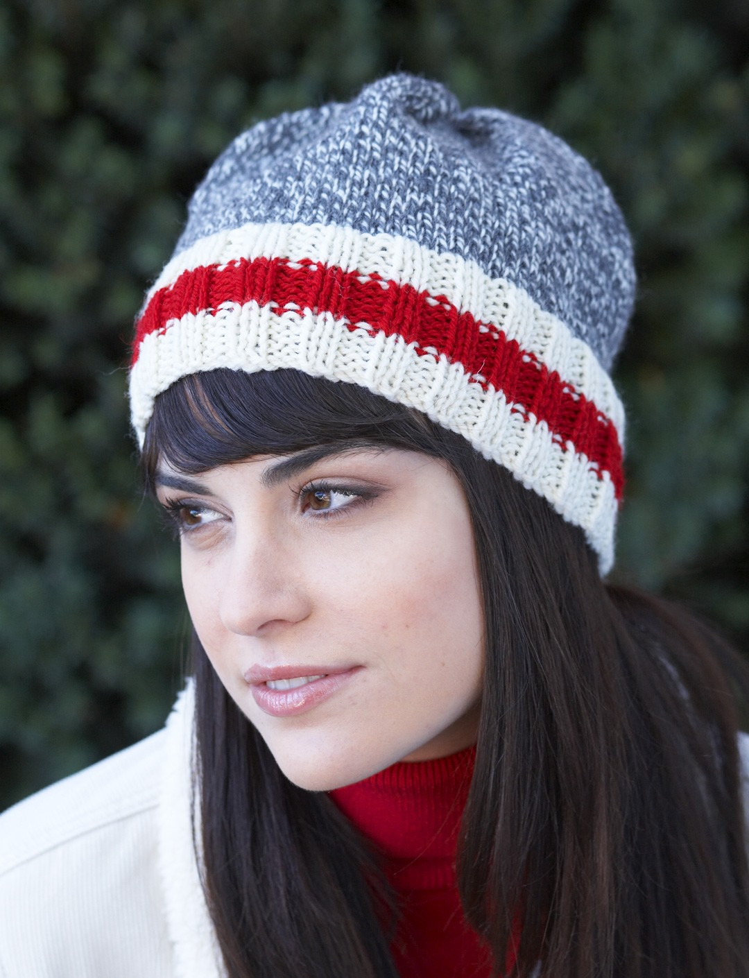 Sock Monkey Hat Knitting Pattern : Work Sock Hat - Patterns Yarnspirations