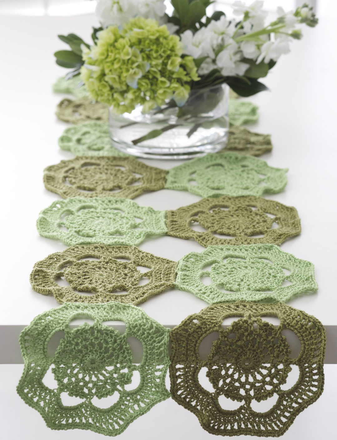 Free Crochet Patterns Using Size 3 Thread : Bernat Doily - 3 Ways, Crochet Pattern Yarnspirations