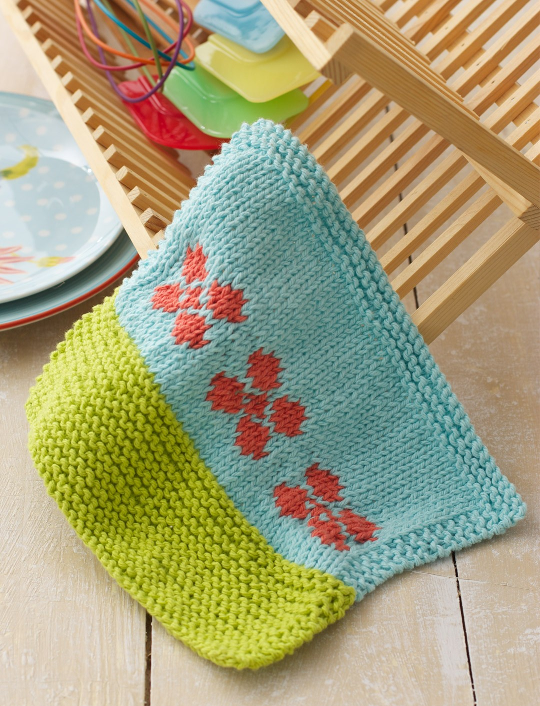 Garden Grows Dishcloth