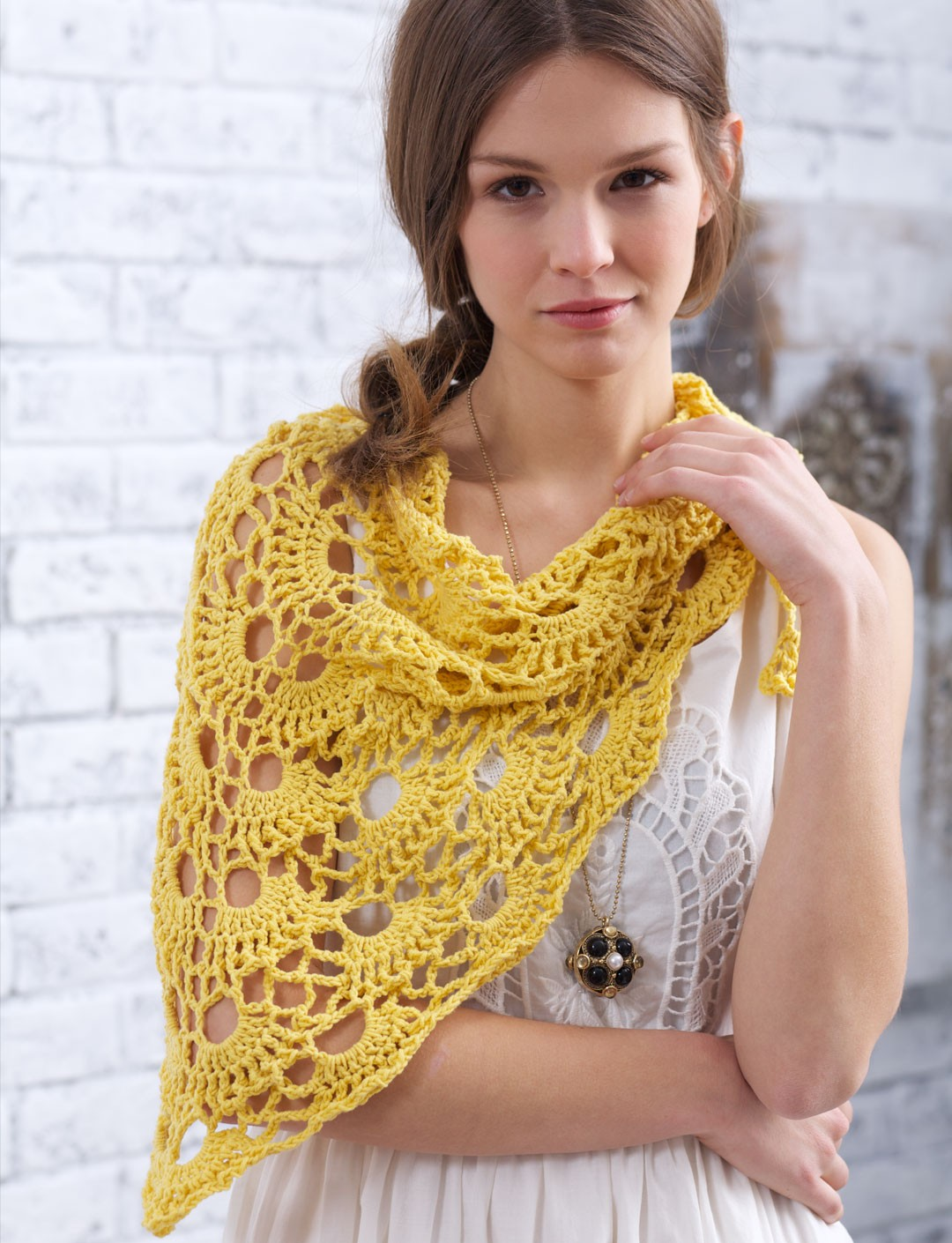 Yes Yes Shawl - Patterns Yarnspirations