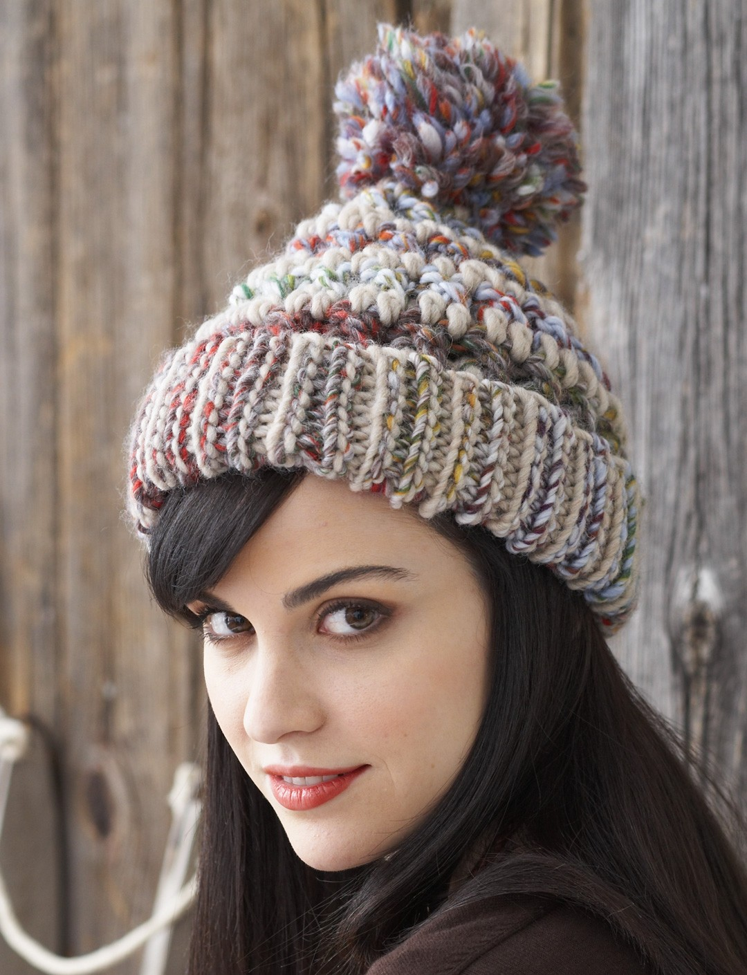 Big Stitch Hat & Cowl