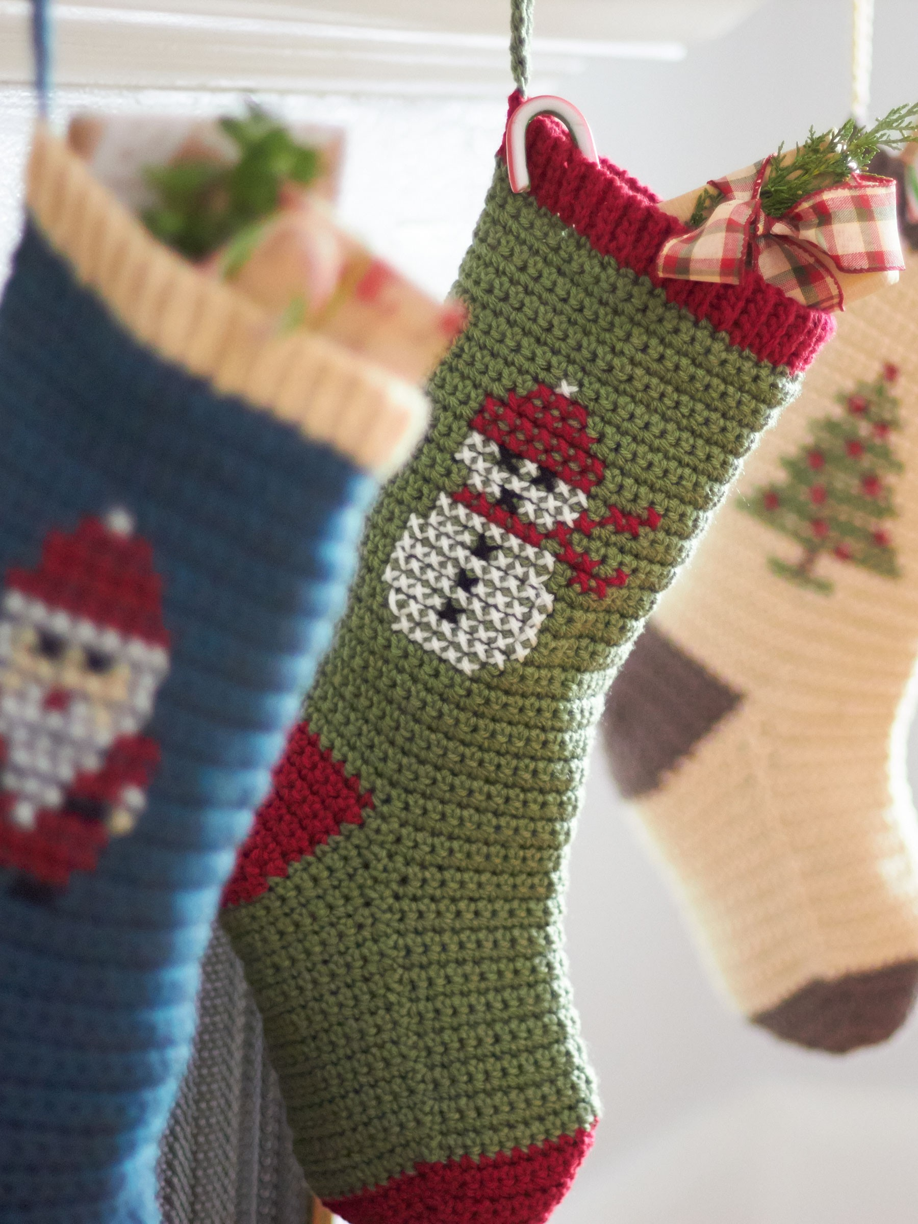 Cross Stitch Christmas Stockings