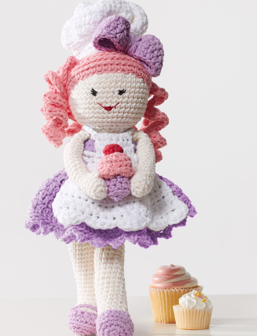 Lily Sugar And Cream Free Crochet Patterns : Lily Baker Lily, Crochet Pattern Yarnspirations