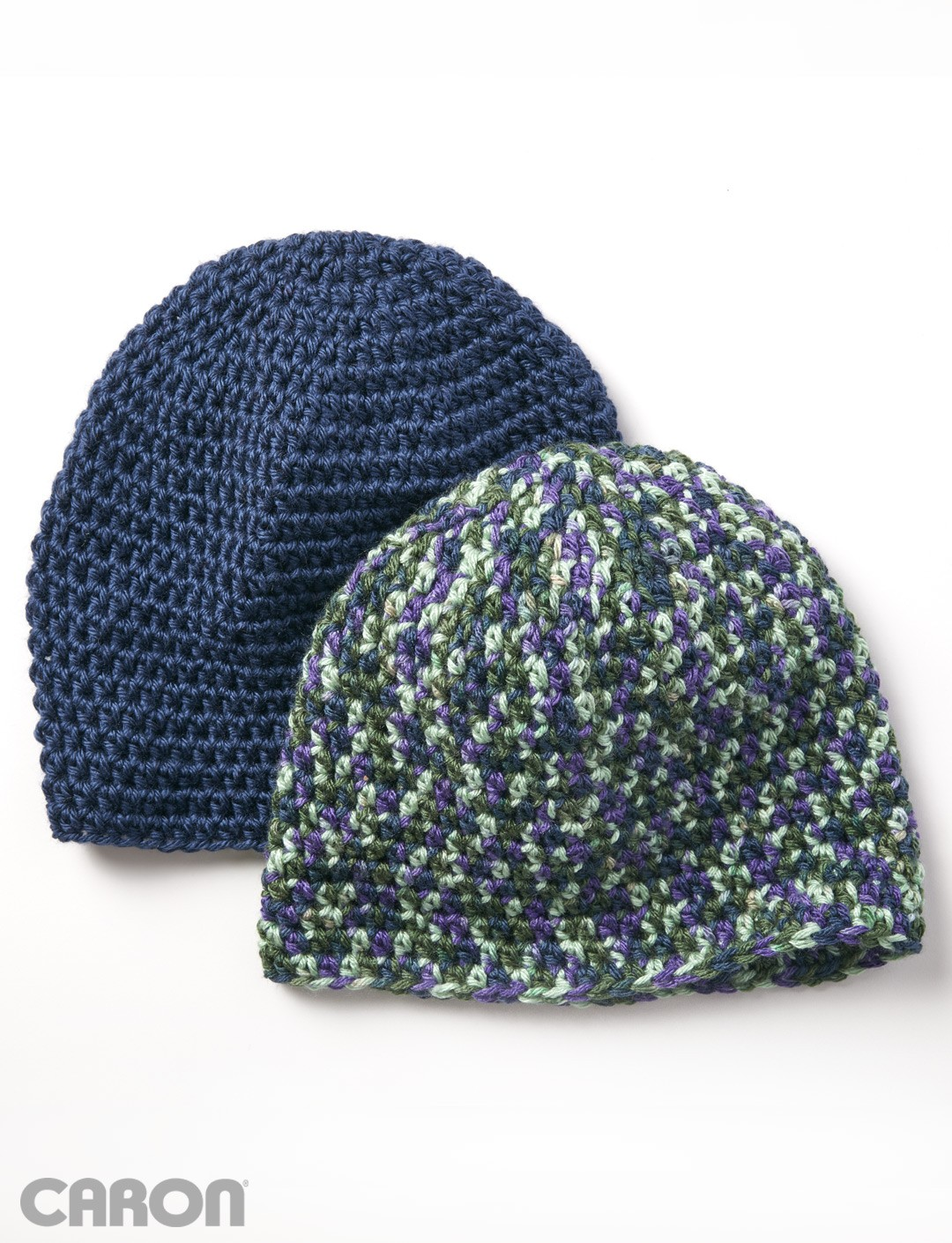 Beginner Crochet Patterns Beanie : Caron Beginner Beanie, Crochet Pattern Yarnspirations