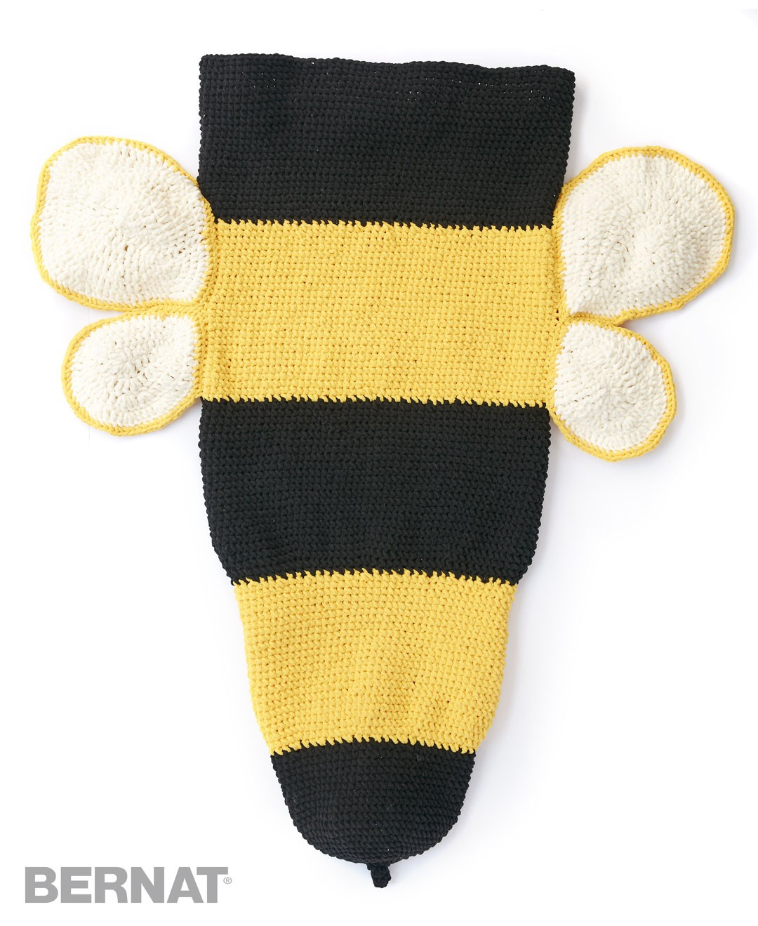 Bumble Bee Crochet Snuggle Sack