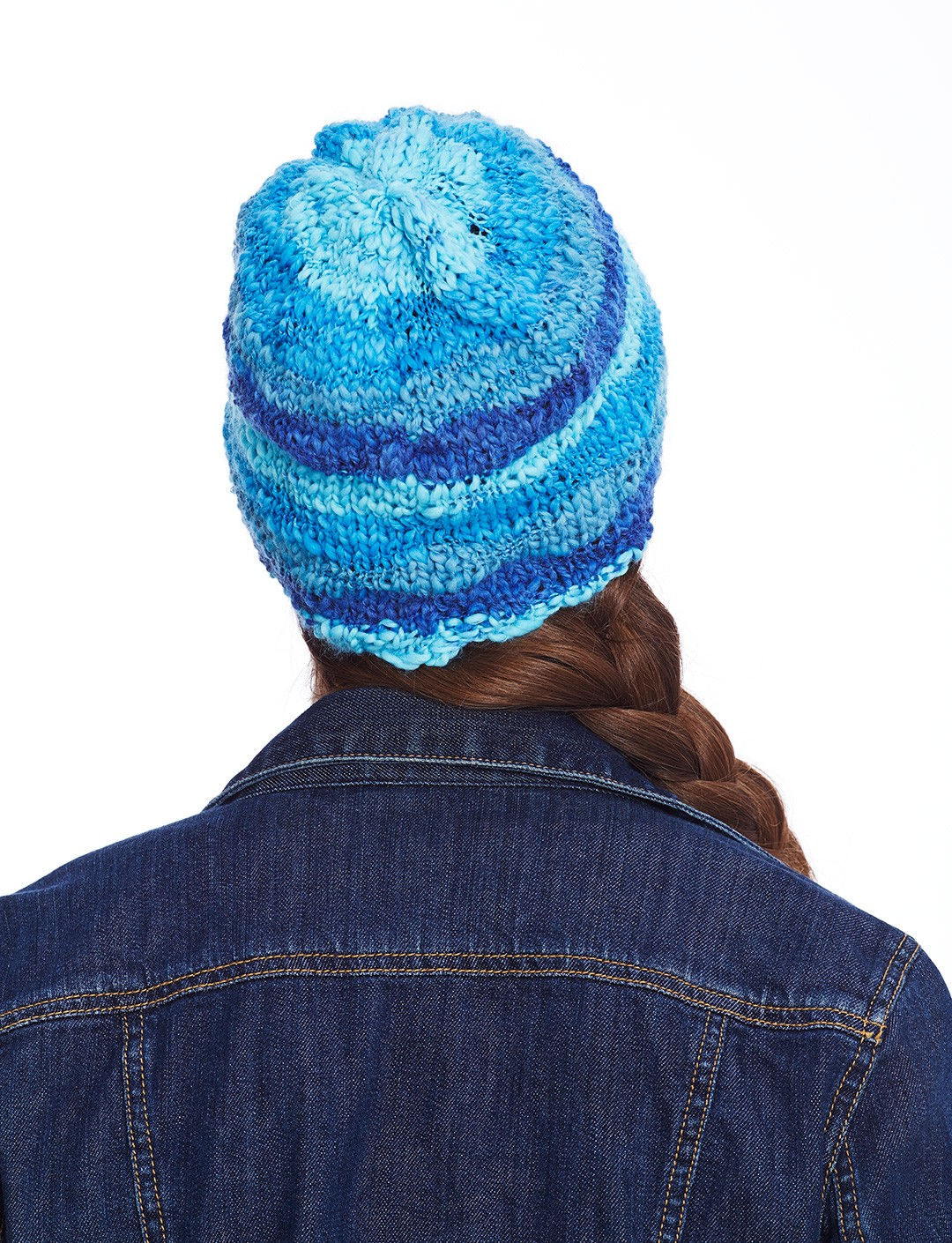 Knitting Pattern Basic Beanie : Bernat Basic Beanie, Knit Pattern Yarnspirations