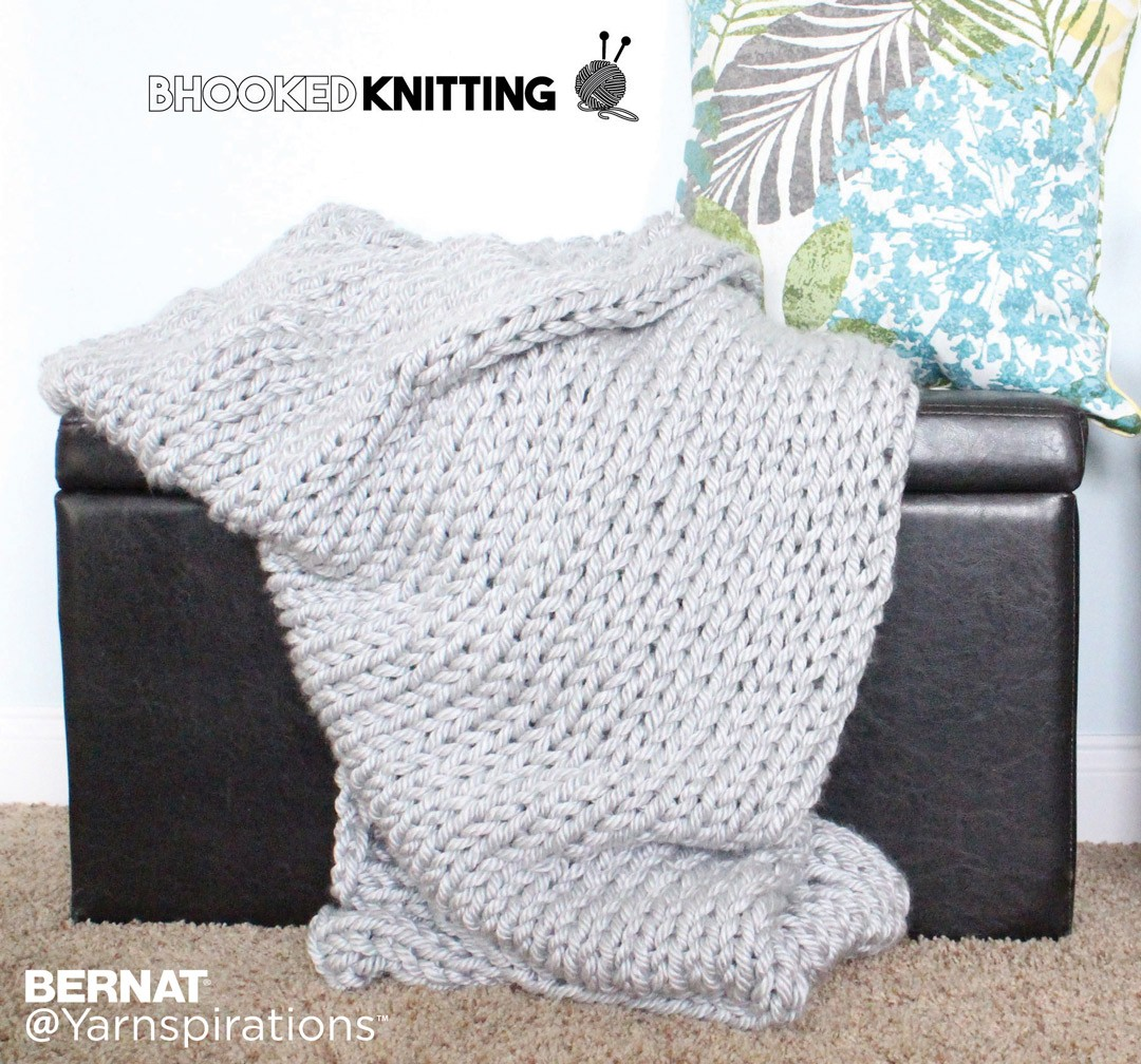 Mega Knit Throw
